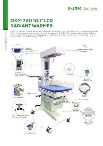OKM 730 10'' INFANT RADIANT WARMER