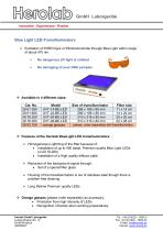 Blue Light LED-Transilluminators - 1