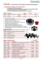 HiCen GR - Large Volume Floor Standing Centrifuge - 2