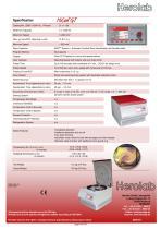 HiCen GT - Large Volume Table Top centrifuge - 4