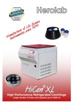 HiCen XL - High Performance Centrifuge, 6 liters - 1