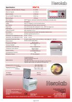 HiCen XL - High Performance Centrifuge, 6 liters - 4