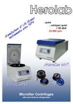 Microliter centrifuge MicroCen MR - 1