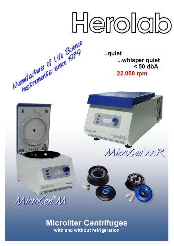Microliter centrifuge MicroCen MR