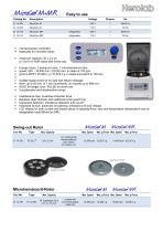 Microliter centrifuge MicroCen MR - 2