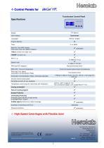 NEW: Super High-Speed Centrifuge UniCen HR - 5