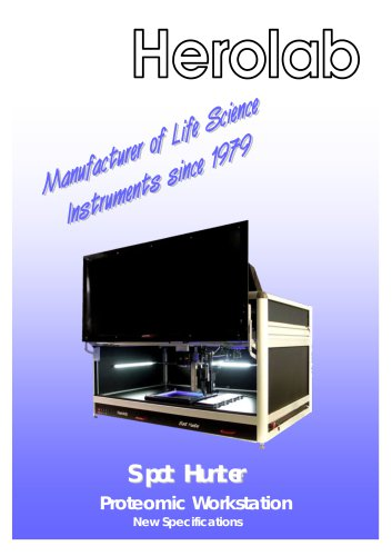 Spot Hunter - Proteomic Workstation
