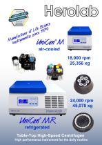 Universal centrifuge UniCen M / MR - 1