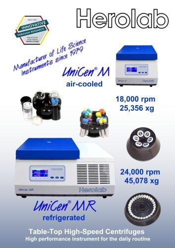 Universal centrifuge UniCen M / MR