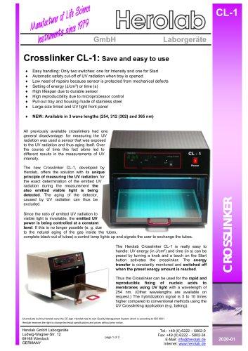 UV Crosslinker