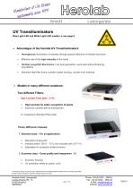 UV Transilluminators - 1