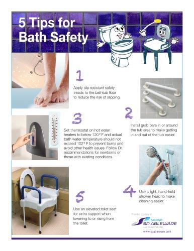 Bath Safety Tip