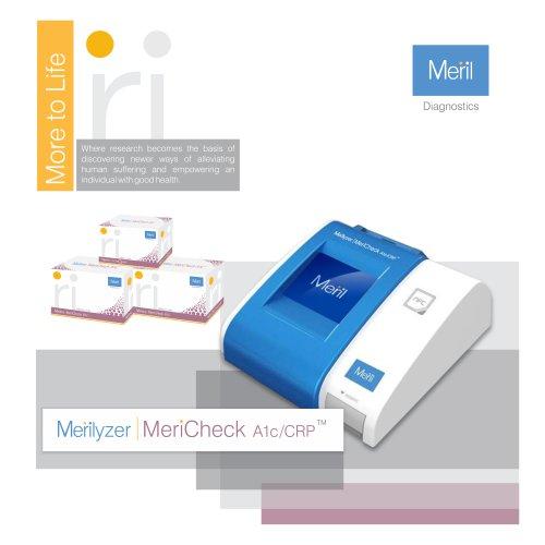 Merilyzer MeriCheck A1c/CRP
