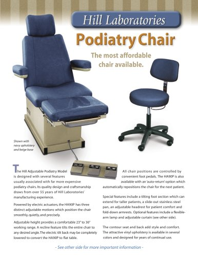 Hill HA90P Podiatry