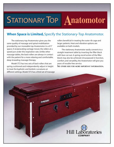 STATIONARY TOP Anatomotor