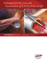 Care and Cannulation