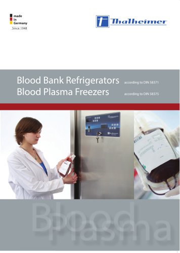 Blood Refrigeration