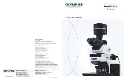 BX63 research family brochure
