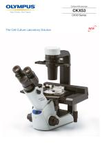 The Cell Culture Laboratory Solution CKX53
