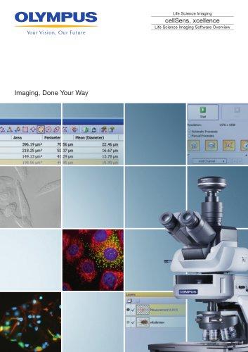 cellSens/xcellence software overview brochure