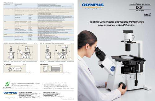 IX51 product brochure