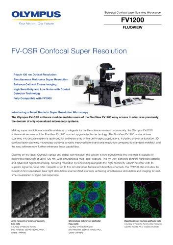 Laser Scanning Confocal Microscope FV1200 FV-OSR