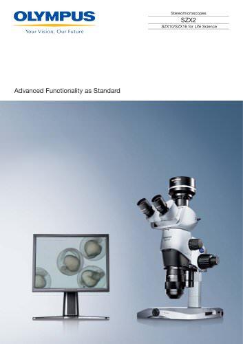 SZX10, SZX16 family brochure