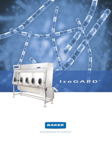 IsoGARD® Class III Biological Safety Cabinet