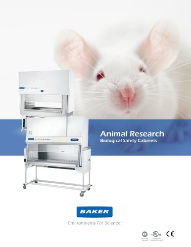 SterilGARD® e3 Animal Research Cabinets