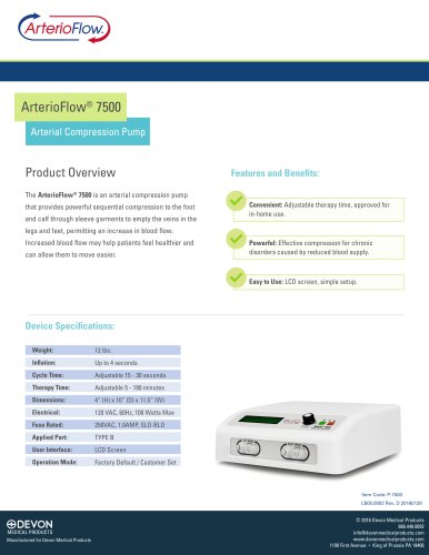 ArterioFlow® 7500