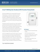 Cirona™ 6100 Deep Vein Thrombosis (DVT) Prevention Therapy System - 1