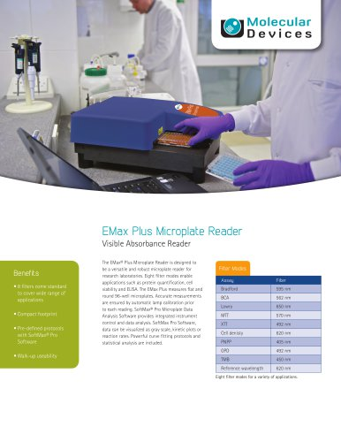 EMax Plus Microplate Reader