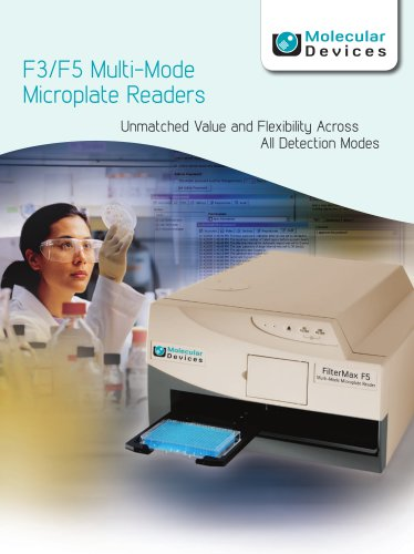F3/F5 Multi-Mode Microplate Readers