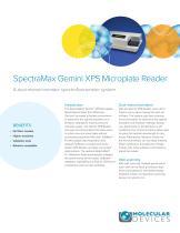 SpectraMax Gemini XPS Microplate Reader - 1