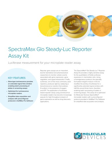 SpectraMax Glo Steady-Luc Reporter Assay Kit