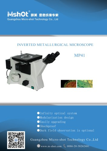 Metallurgical Inverted Microscope MJ42