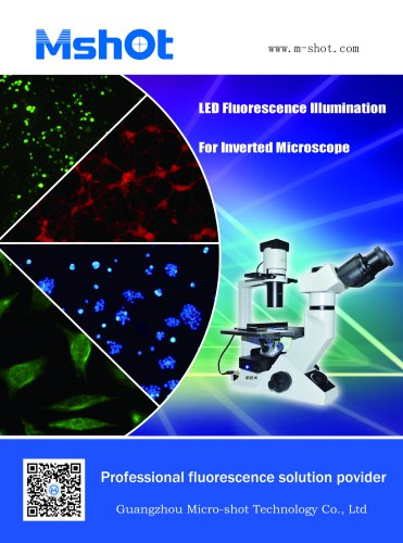 MI-BGUV-LED | Inverted fluorescence microscope illumination