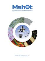 Mshot microscope and camera catalogue
