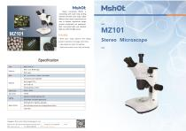 Mshot MZ101 stereo microscope catalogue