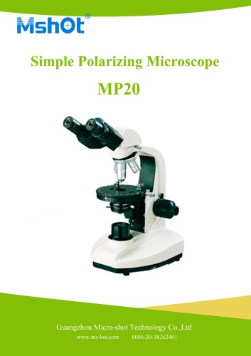 Simple Polarizing Microscope MP20