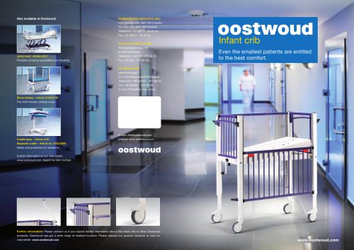 Infant crib Oostwoud Pediatric beds - 3165