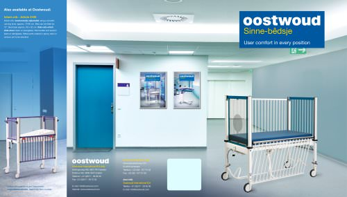 Sinnebedsje Oostwoud Pediatric beds - 3144/3145
