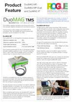 DuoMAG MP, DuoMAG MP-Dual and DuoMAG XT