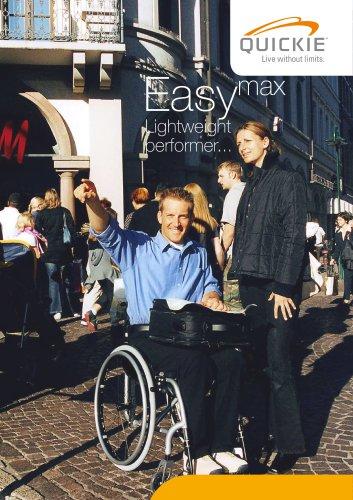 Easy Max Folding Wheelchair