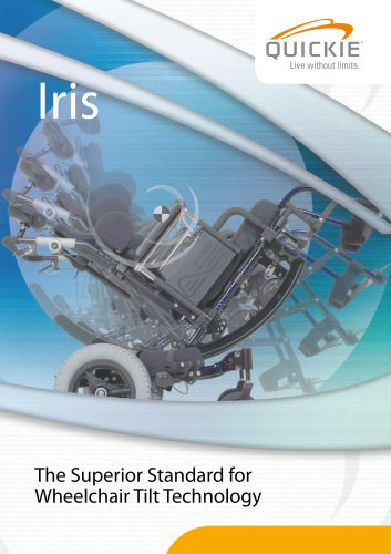 IRIS Tilt In Space Wheelchair