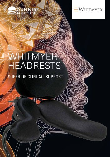Whitmyer wheelchair Headrests