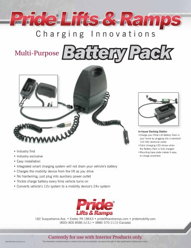 Multi-Purpose Battery Pack