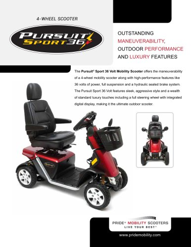 Pursuit Sport 36 Volt