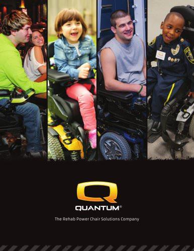 Quantum Rehab 16 Page Brochure
