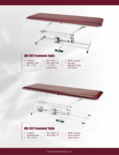 AM-150 Treatment Table
